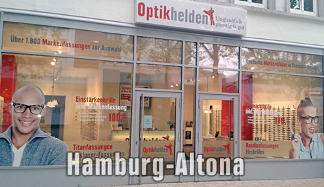 Optikhelden in Hamburg-Altona
